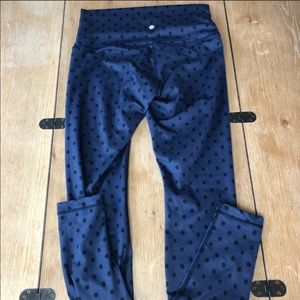 Lululemon Wunder Under 10 Polka Dot